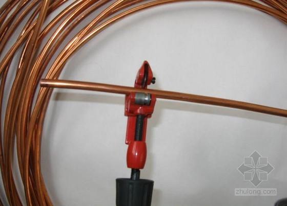 分体空调施工工具使用方法与铜管加工焊接技术
