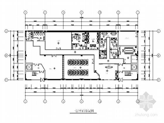 [杭州]时尚女装企业有限公司现代办公楼装修施工图