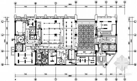 十五层国际大酒店室内装修电气施工图纸