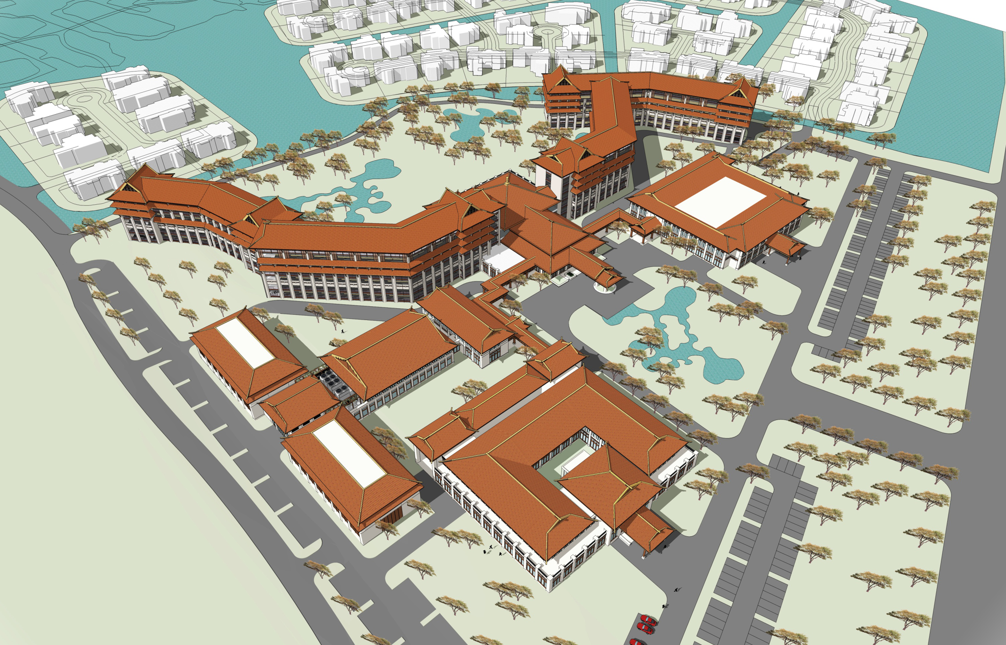 [常州]某住宅区设计及文本居住单体方案(含cad)-规划i5421054210hq做设计图怎么样图片