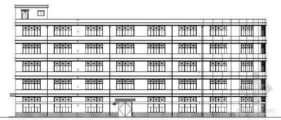 某五层改造车间建筑施工图