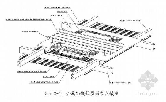 金属复合屋面施工工法(铝镁锰屋面板)