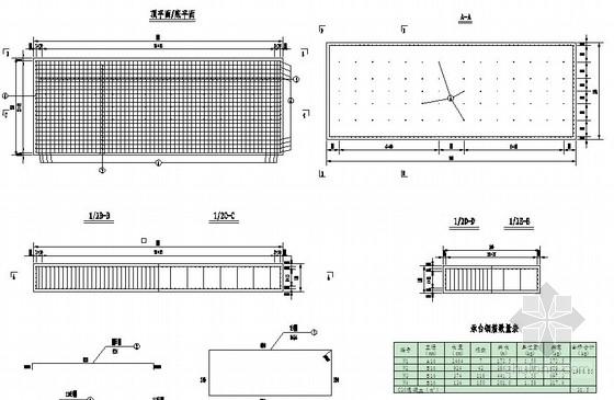 [福建]跨排洪渠软件家装设计图(中铁)结构平面设计图包括什么栈桥图片