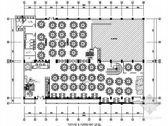 [成都]新中式海鲜酒楼室内施工图(含效果)