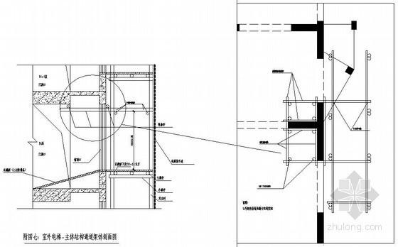 [天津]高层住宅楼室外施工电梯专项方案(SC200/200型)