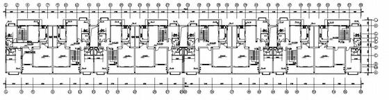 多层复式住宅楼给排水设计图