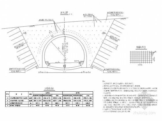 双车道分离式隧道全套施工图(57页)