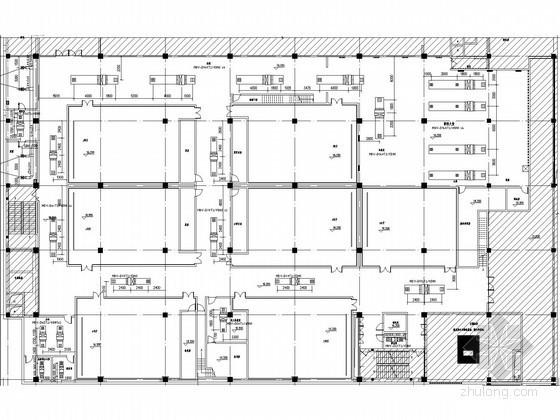 [天津]文化建筑空调通风系统设计施工图
