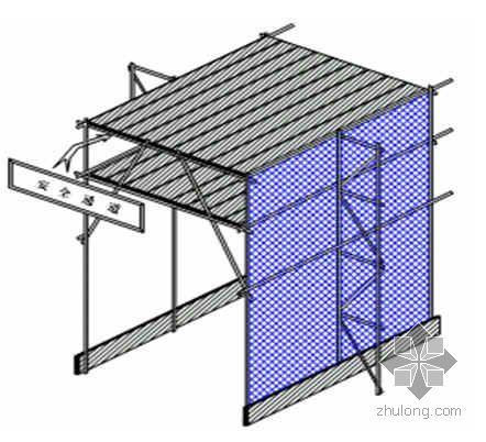 唐山某框架结构办公楼外超高悬挑脚手架施工方案