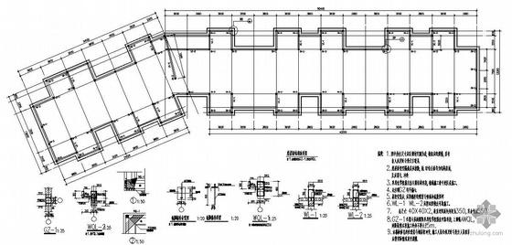 某平改坡结构设计图
