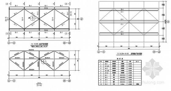 [成都]新建厂房球形气楼建筑结构设计图