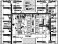 [深圳]大型商务中心中央空调及通风防排烟系统设计施工图334张
