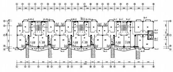 某多层住宅楼给排水施工图
