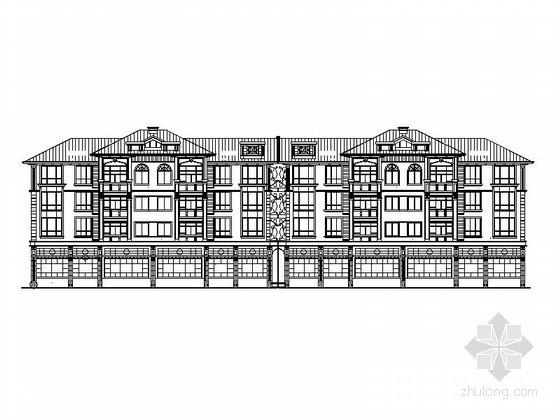 [长沙]某四层住宅建筑施工图