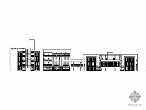 [南充]某职业技术学院公共教学楼一、二、三区建筑施工图