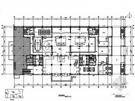 [北京]某大型办公楼室内装饰施工图(含效果图)