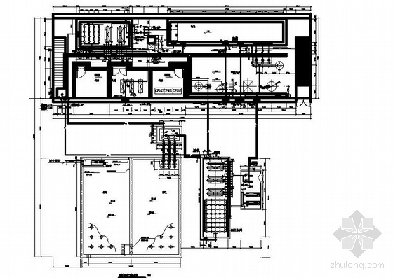 奥林匹克公园网球中心MBR污水处理系统投标图纸