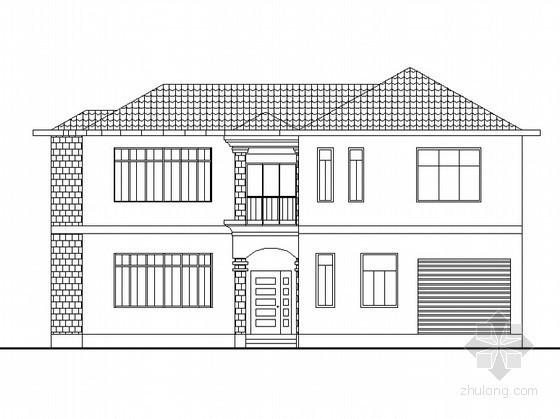 某二层别墅建筑方案设计(课程设计含效果图)
