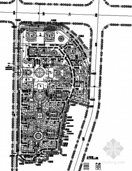 [景德镇]保障性住宅小区方案总平面图