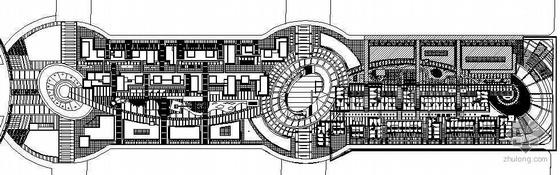 [天津]某商业街景观设计施工图