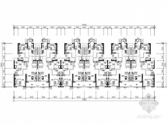 [北京]多层公寓楼散热器采暖设计施工图