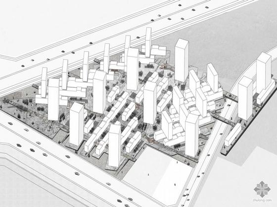 [广东省深圳市宝安区]某镇花园国际竞赛方案-2号方案概念方案