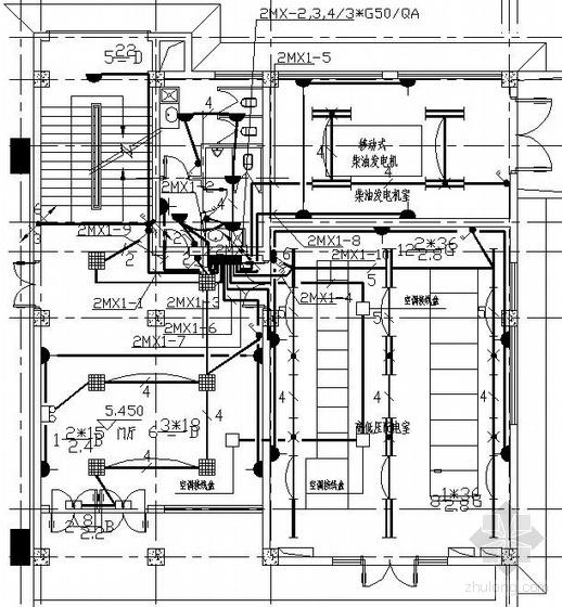无锡某泵站工程电气图纸
