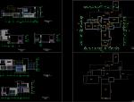 山地别墅建筑结构带效果图