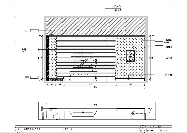[福州]个性主题KTV设计施工图(含效果图)_4