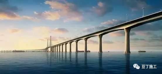 举世瞩目的港珠澳大桥背后 这些施工单位将永留史册!
