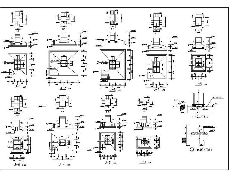 车间60米跨15000平米钢结构全套优质施工图纸(30张)