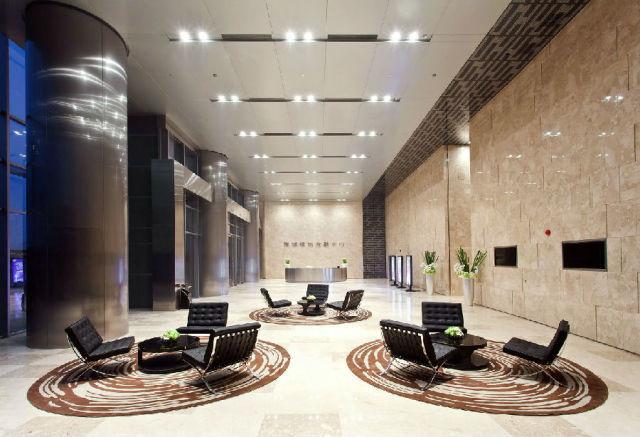 #办公楼#佛山:禅城绿地中心办公楼室内设计_2