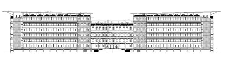 vray渲染建筑教学资料下载-多层教学楼建筑全套完整施工图