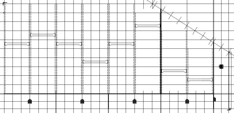 1、3、4号车间门式刚架钢结构施工图(CAD,22张)_4