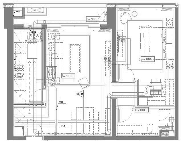 深圳市前海金融中心公寓楼项目电气施工图