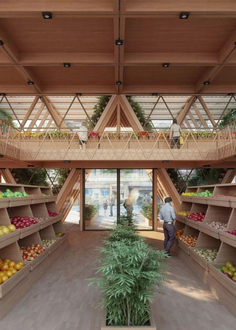 拥有独立生态系统的大楼-城市中的垂直农场_21