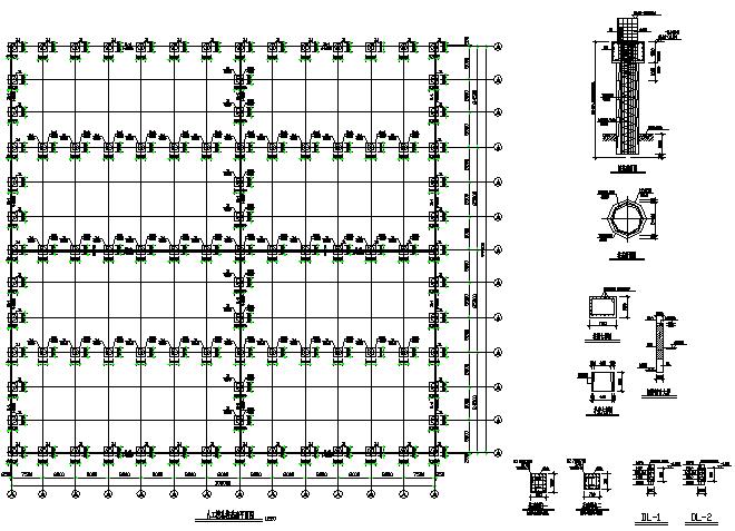 四川99X103m门式刚架结构工程施工图(CAD,全套)