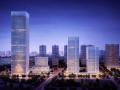 """[湖北]""""产+城+生态""""有机融合的都市产业商业示范区景观方案设计"""