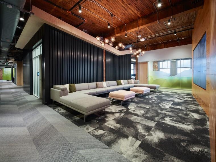 波特兰欧特克的新办公空间