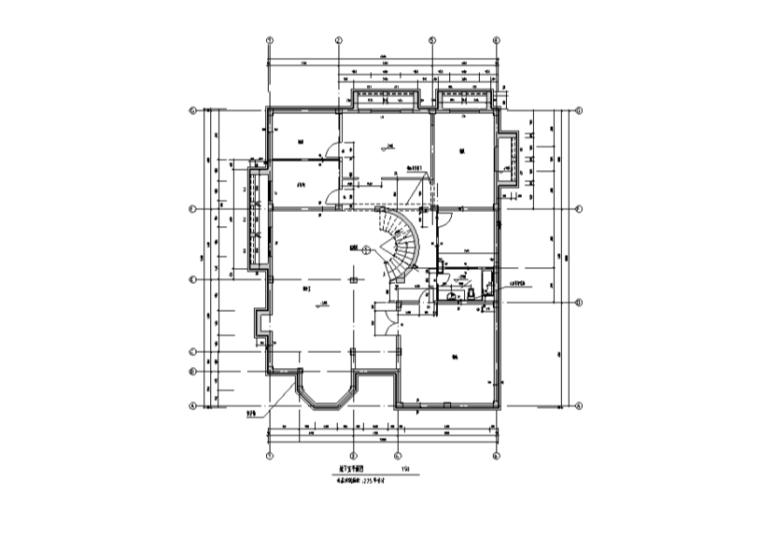 两层740平方米独栋别墅含半地下室CAD图纸及SU模型