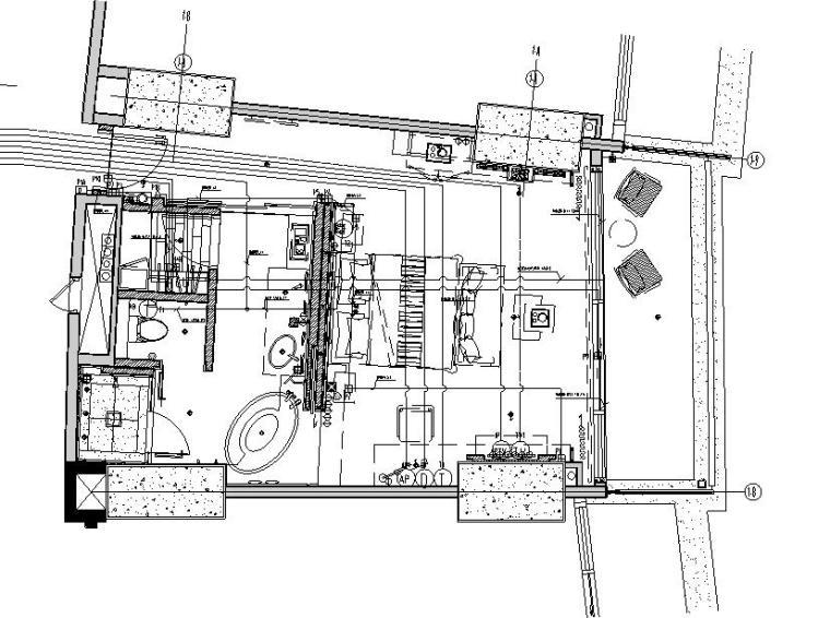 UPS平面布置图资料下载-海南大型5星级度假型酒店弱电施工图