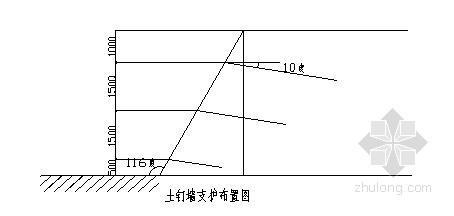 [江苏] 某工程基坑支护工程施工方案(插筋抗拉计算)