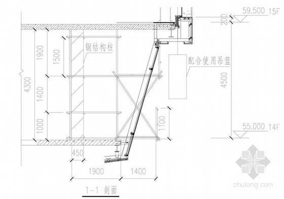 [天津]高层酒店工程斜面玻璃幕墙加工及安装技术