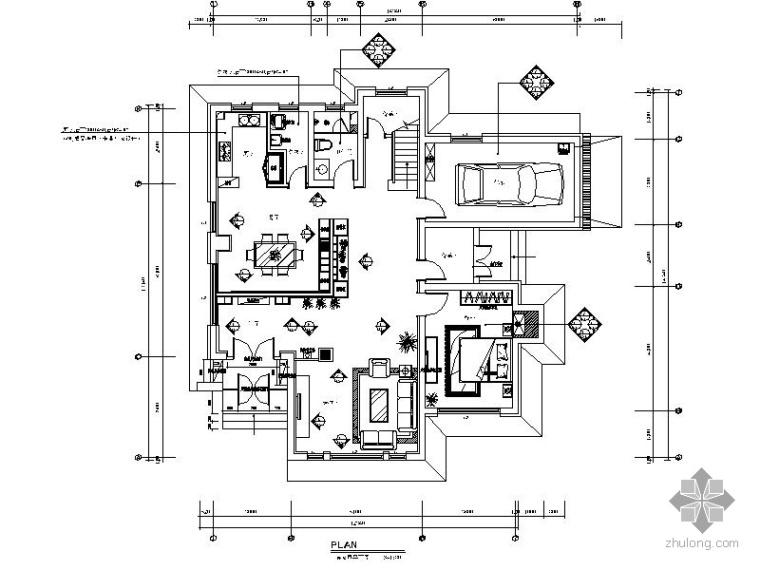 [无锡]某现代三层别墅室内装修图
