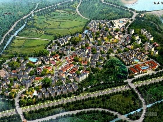 [福建]山水风景区美丽乡村景观规划设计方案