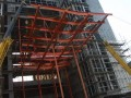 [QC成果]16.5米长钢桁架结构雨篷悬挑研究成果汇报