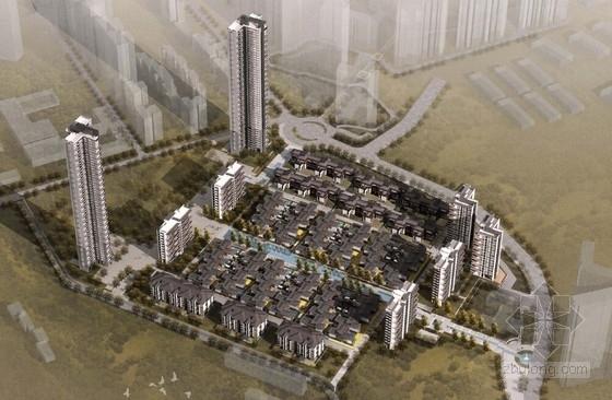 [深圳]中式风格华侨城住宅区规划设计方案文本