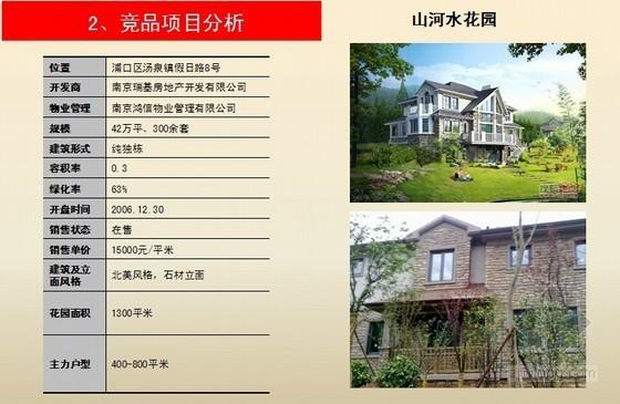 [南京]房地产项目市场及产品设想报告(欧式风格)
