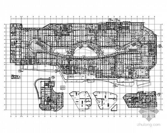 [知名甲级设计院]20万平米商住地建筑给排水施工图(虹吸雨水、太阳能热水系统)