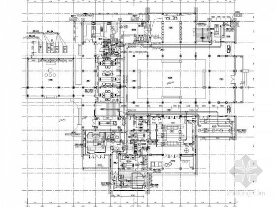 [浙江]景区适堂空调通风系统设计施工图(含采暖设计)